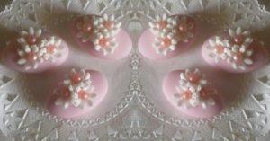 confetti rosa nascita e battesimo