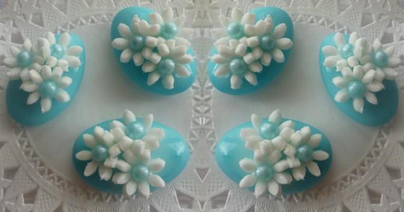 confetti azzurri battesimo